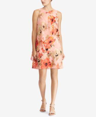 79e748e8b823 Lauren Ralph Lauren Floral-Print Dress, Regular & Petite Sizes - Summer  Dresses - SLP - Macy's