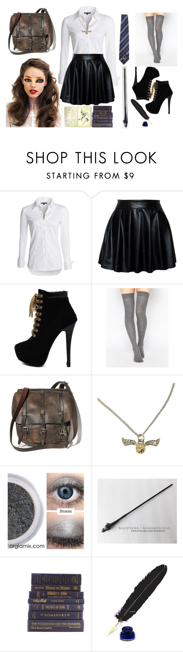 """""""Aurora Raven Fawley"""" by xxiceprincessxx ❤ liked on Polyvore featuring NIC+ZOE, ASOS, Franklin and Moleskine"""