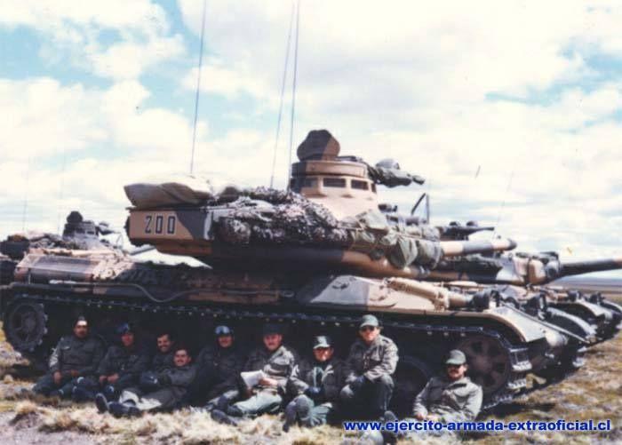 Chilean Army AMX-30.