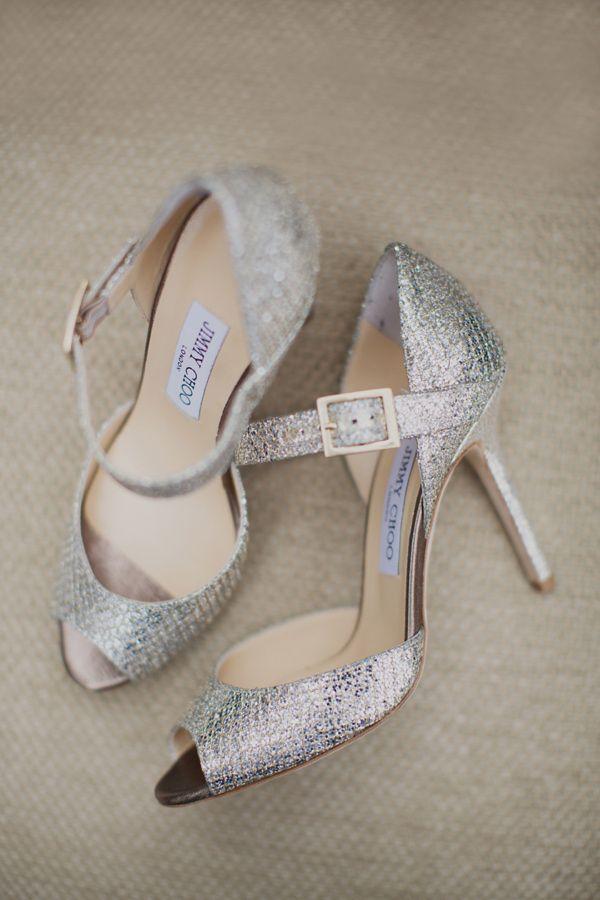 you can't beat a sparkly pair of Jimmy Choos   photo by Paula O'Hara via Ruffled