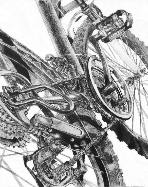 bike drawing - Google Search