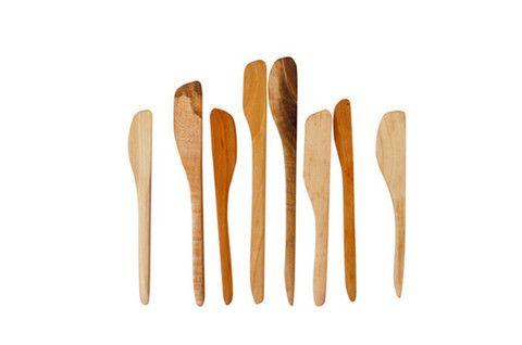 Handmade Assorted Wooden Spreaders