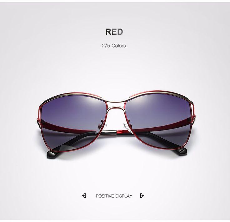 Elegant largeframed polarized sunglasses polarized