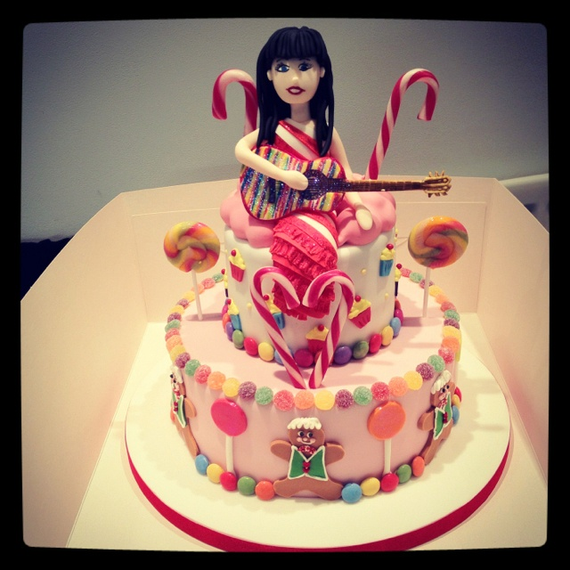 My Katy Perry Birthday Cake