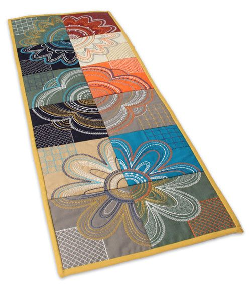 The creation of modern petals tiling scene gt diy