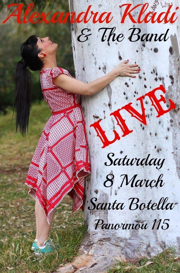 Alexandra Kladi: Σάββατο 08 Μαρτίου 2014 Alexandra Kladi and the Ba...
