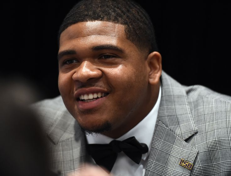LSU's La'el Collins at SEC Media Days in Hoover, AL. ~ Check this out too ~ RollTideWarEagle.com sports stories that inform and entertain and Train Deck to learn the rules of the game you love. #Collegefootball Let us know what you think. #Mizzou #Missouri