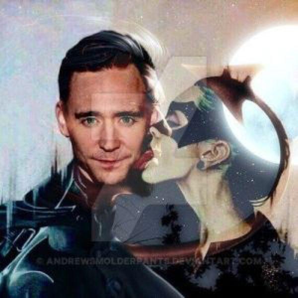 Tom Hiddleston, the Moonlight Devil by AndrewSmolderpants on @DeviantArt