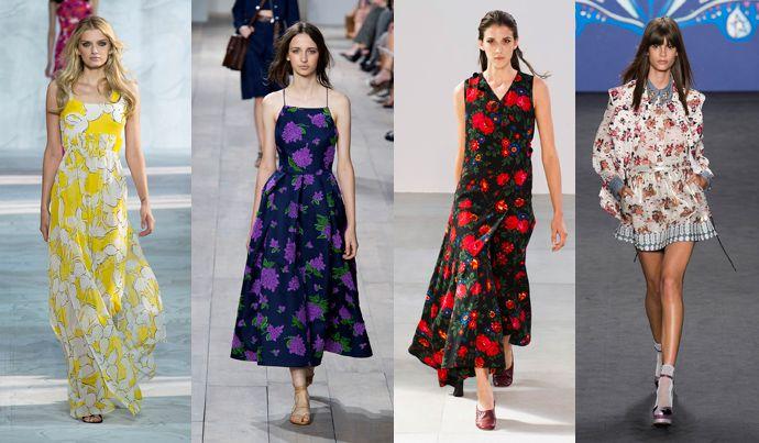 Модные принты лето 2015: фото