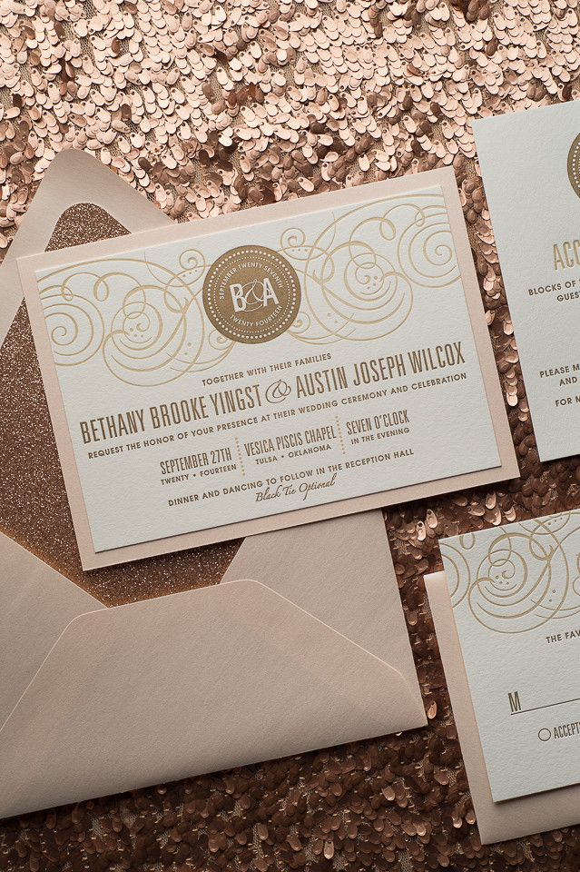 avery address labels wedding invitations%0A Glitter and mirror paper are paired up on this formal and gorgeous wedding  invitation