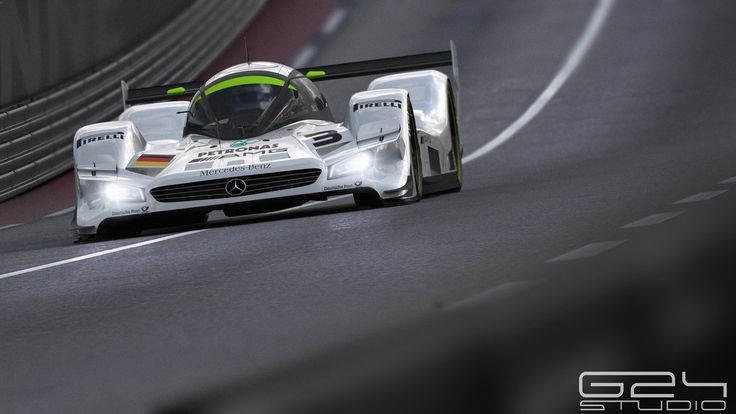 Mercedes lmr1 down the straight by KarayaOne on DeviantArt