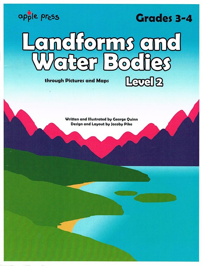 Landforms and Water Bodies Level 2 - Northwoods Press