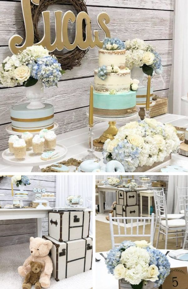 Rustic Style Baby Shower Baby Shower Ideas Themes Games Rustic Baby Shower Decorations Baby Shower Themes Angel Baby Shower
