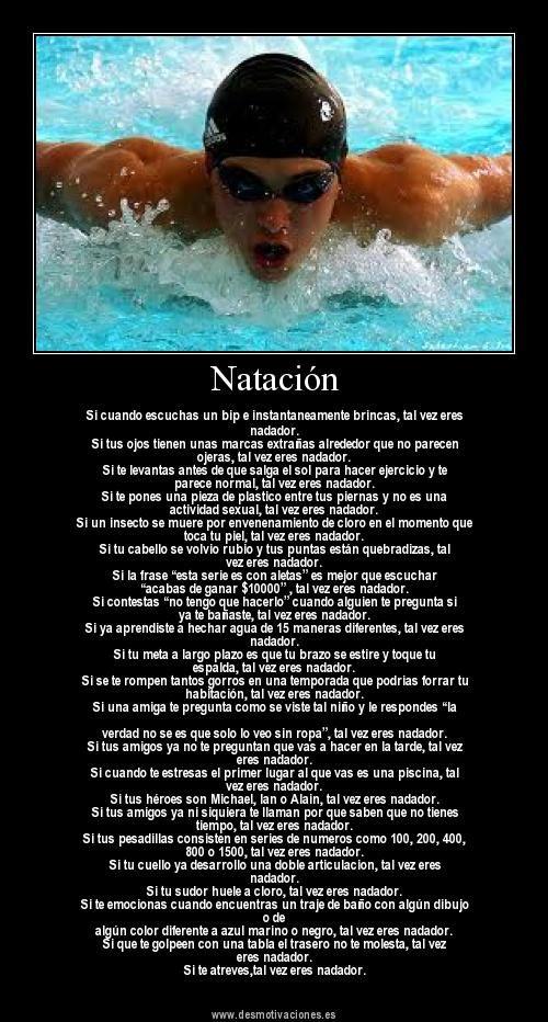 Nadador.                                                                                                                                                                                 Más