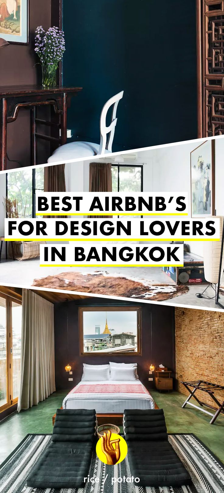 From quirky shophouses in Bangkok's Chinatown to designer lofts in the city center - check out these drool-worth Airbnb apartments in Bangkok, Thailand!