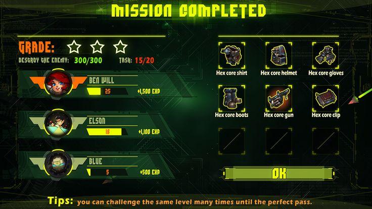 CyberPunk3097-ERA Game Ui DesiGn! on Behance
