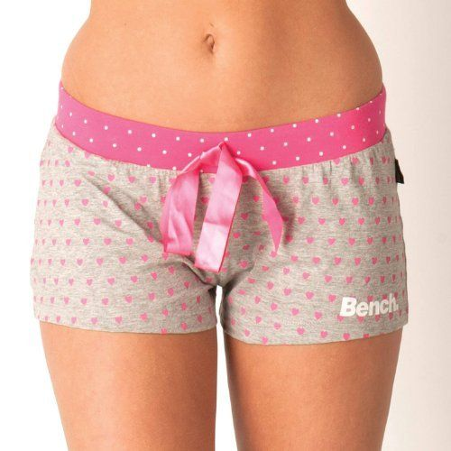 Bench - womens Heart Short in grey marl Pyjamas Women - Bench, http://www.amazon.co.uk/dp/B00EZ3ZQIE/ref=cm_sw_r_pi_dp_ICf1sb0S8D9MN