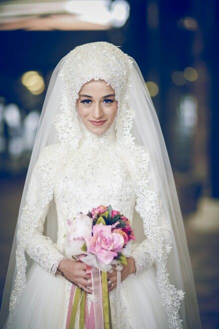My wedding dress ^^  Recep's Wife