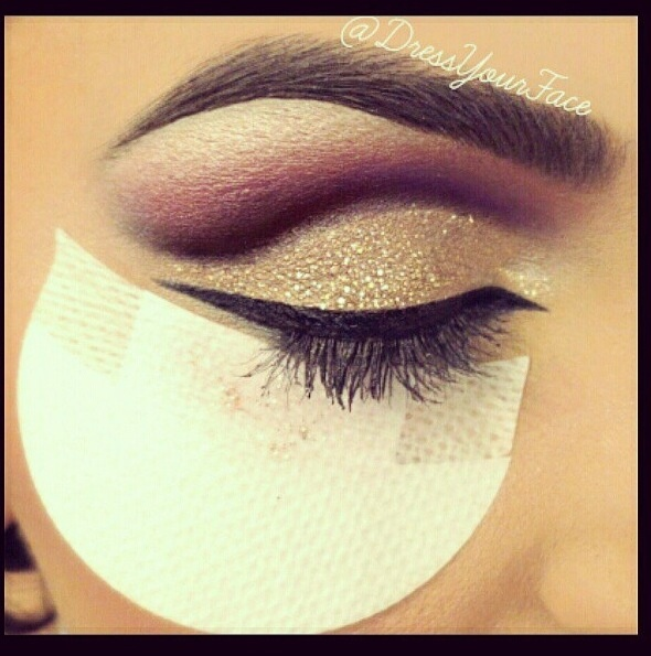 Middle Eastern styled make-up.