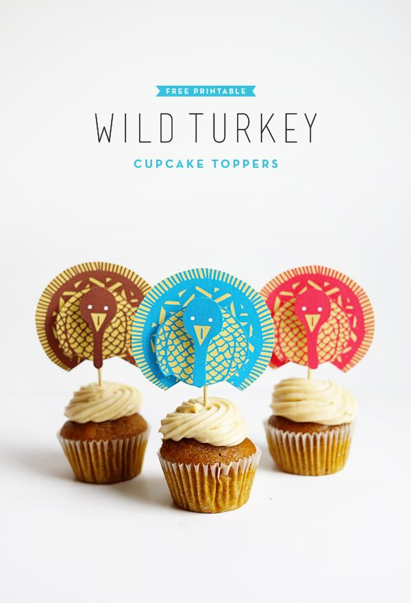 by Alix Sorrell After an amazing Thanksgiving dinner, impress your guests with some adorable wild...
