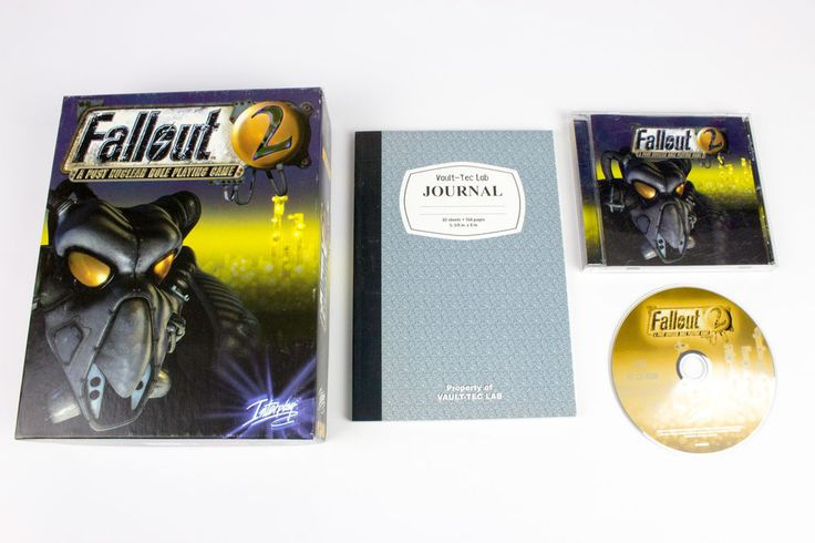 Fallout 2 for PC by Interplay, 1998, Role-Playing (RPG), Post-Apocalyptic