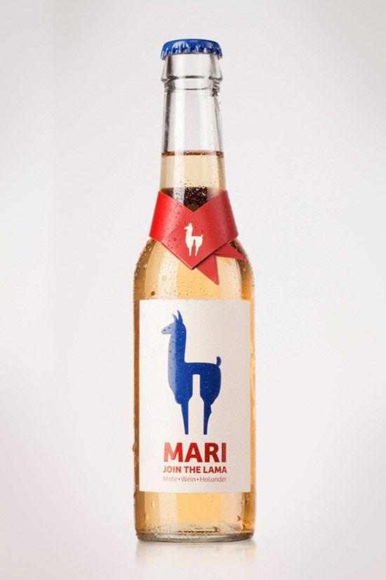 Mari Drink Riesling white wine Elderflower and Mate
