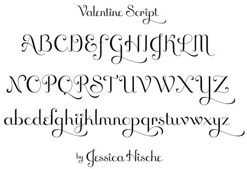 Cute Valentine Font Pretty Letters Tips Pinterest