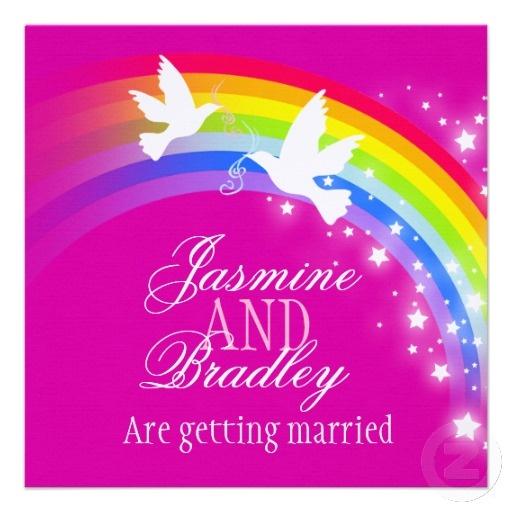 220 best ♥ rainbow weddings | theme weddings | jevel wedding, Wedding invitations