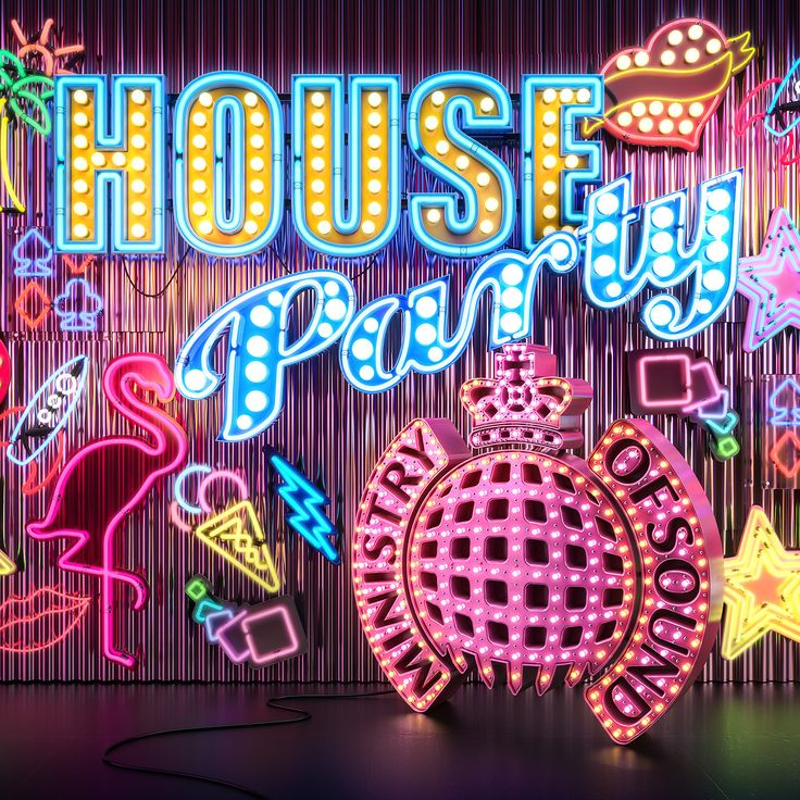Ministry of Sound : House Party on Behance