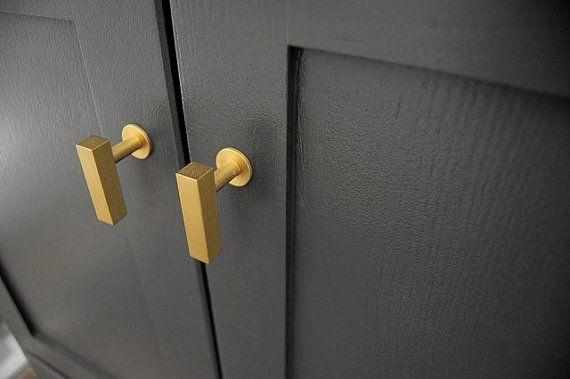 Europäischen Kabinett Brass Knob Pull DIY Küche Brass Schublade Pull Drehknopf Messing Knöpfe
