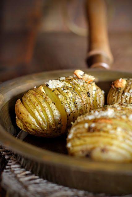 SŁODKI KOMPROMIS: Ziemniaki hasselback