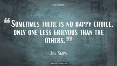 Jon Snow Quotes