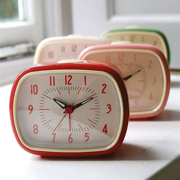 bakelite alarm clock by penelopetom direct ltd | notonthehighstreet.com