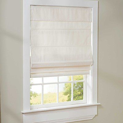 """Cordless Roman Shade 27"""" - IVORY - Improvements by Improvements. $49.99. These thermal-lined cordless shades help block the sun to keep rugs and upholstery from fading. Cordless Roman Shades look neutral from the street. Cordless Roman Shades are easy to install -- all hardware is included. Cordless Roman Shades are easy to install -- all hardware is included. These thermal-lined cordless shades help block the sun to keep rugs and upholstery from fading. Cordless Roman..."""