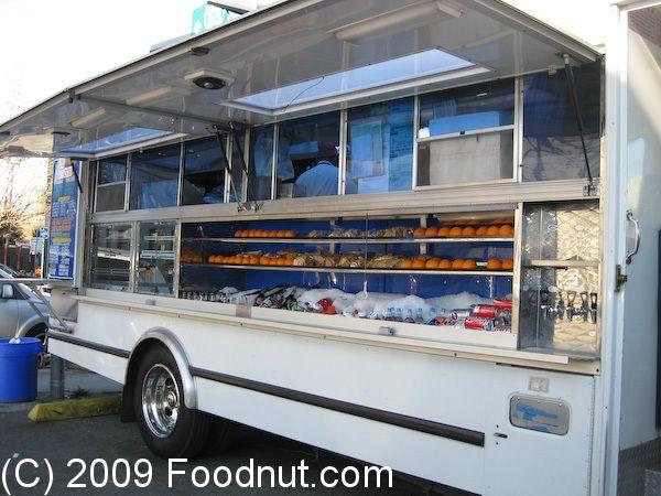 El Norteno Taco Truck San Francisco--love the 50's look to this one.