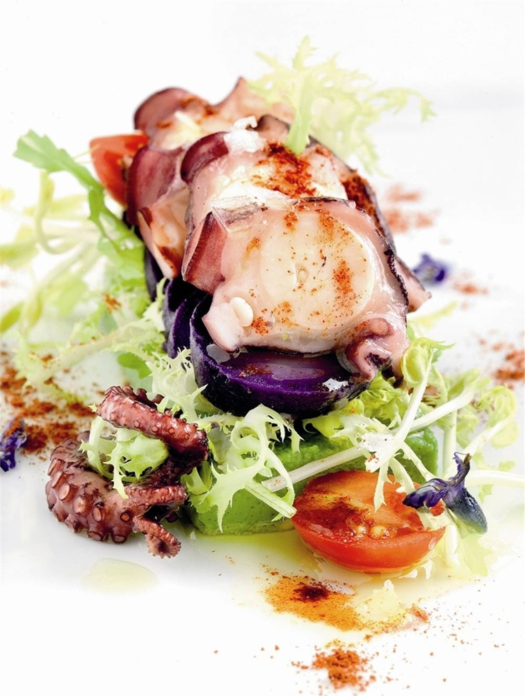 Ensalada de pulpo a feira. #Cantabria #Spain #Travel #Food #Gastronomy