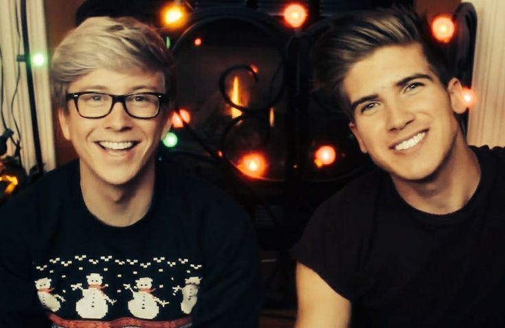 Tyler Oakley and Joey Graceffa