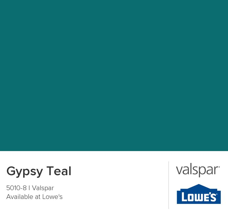 Gypsy teal from valspar ocean blue teal paint colors for How to make teal paint