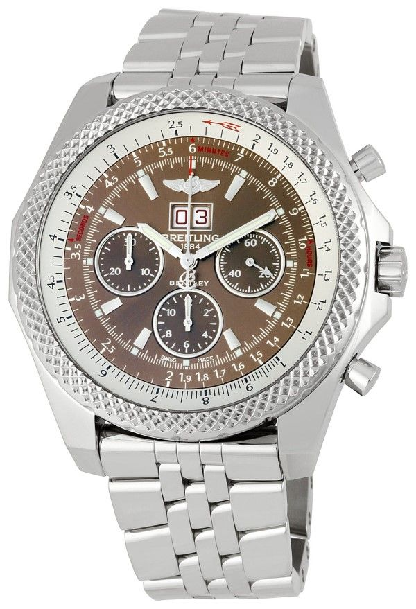 men watches | Online store for Breitling Men's BTA4436412-Q569SS Bentley 6.75 Chronograph Watch