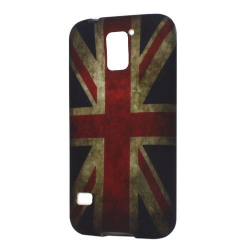 Old UK Flag Soft Cover For Samsung Galaxy S5 i9600