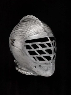 Close helmet for the tourney course. German, about 1520.