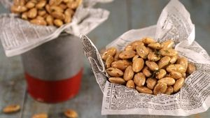 Roasted Almonds with Rosemary Recipe   The Chew - ABC.com