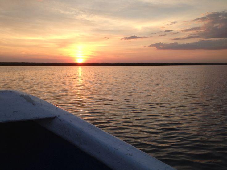 Apus in Delta Dunarii / sunset in Danube Delta