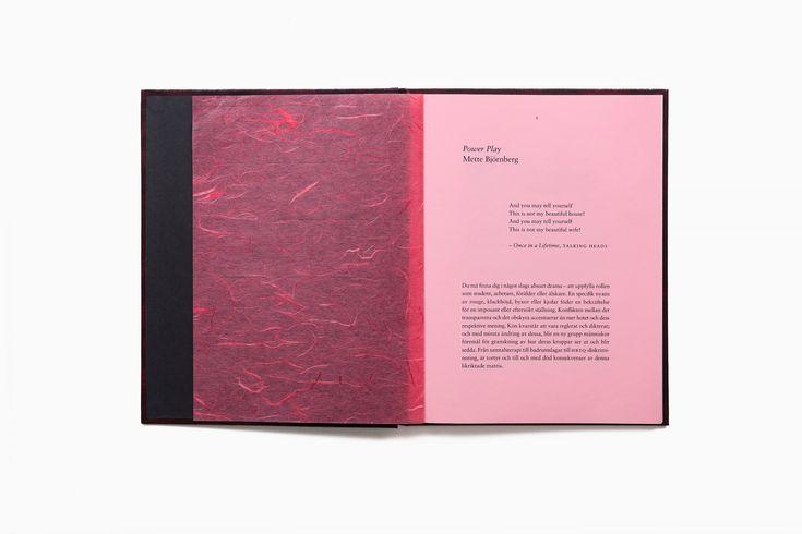 Bedow — Examples of Work — Mette Björnberg