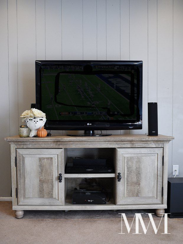 The Better Homes And Gardens Crossmill TV Stand From Walmart Is Beautiful  And Looks Like A