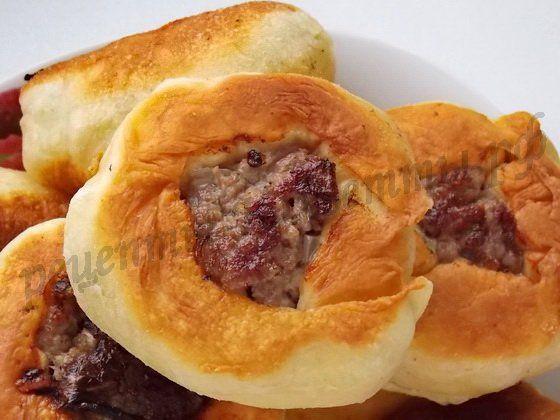 вкусные беляши с мясом