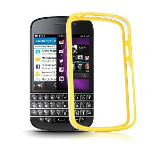 ClearBumper (Yellow) Blackberry Q10 Bumper