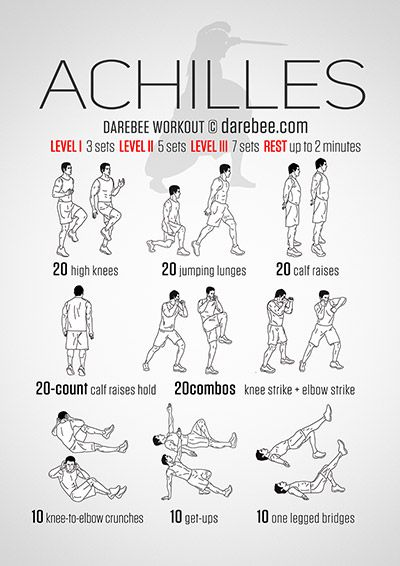 Achilles Workout