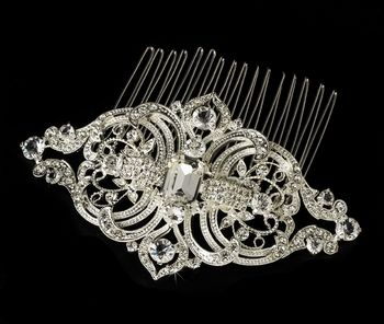 Google Image Result for http://tiaragarden.com/images/P/Royal-Silver-Vintage-Rhinestone-Bridal-Hair-Comb-Comb-75-pic-01.jpg