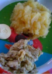 Petit pot bébé  compote pomme et banane (8 à 12 mois)